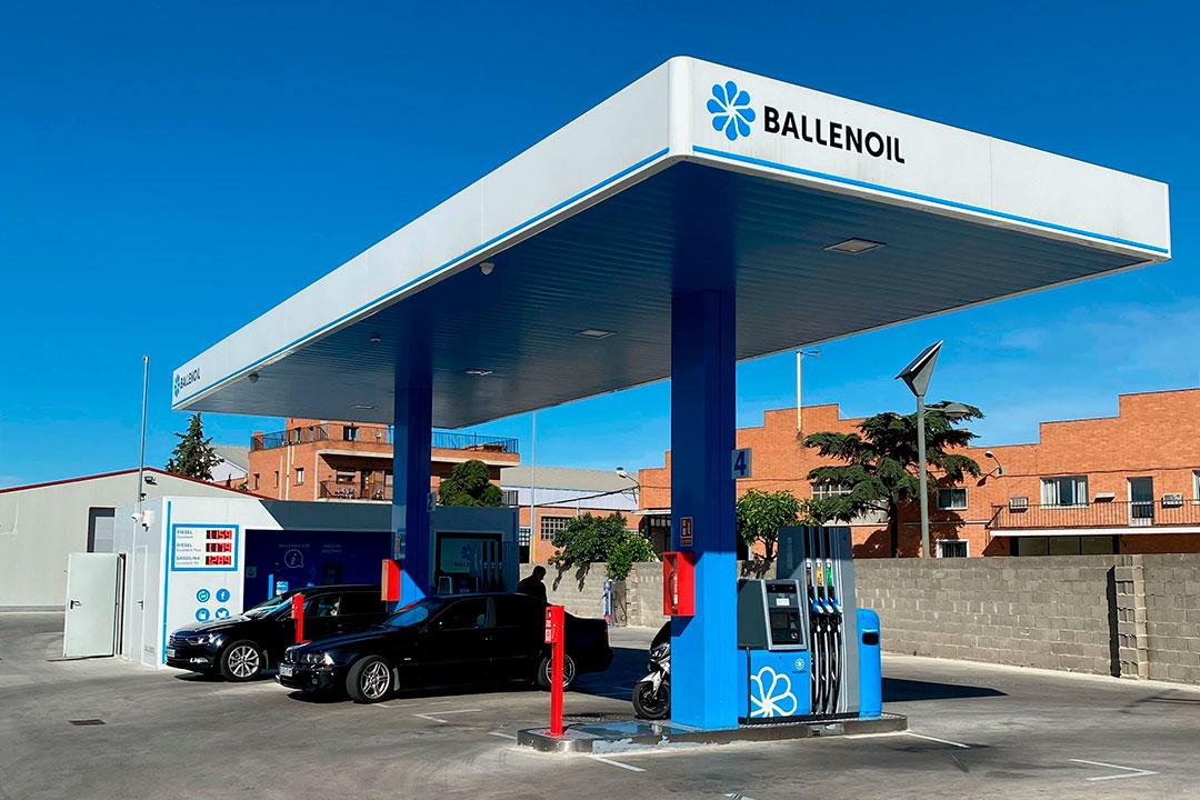 Gasolinera Ballenoil Alcalá de henares