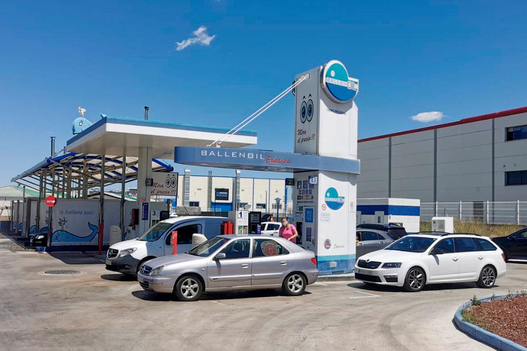 Gasolinera Ballenoil Arganda