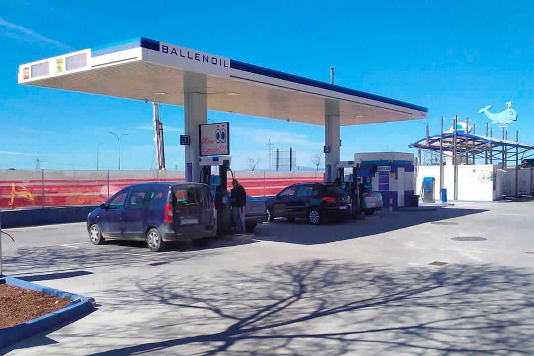 gasolinera ballenoil Arroyomolinos