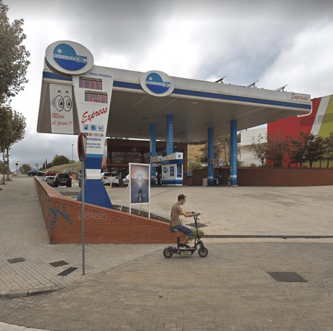 Gasolinera Ballenoil Mataró