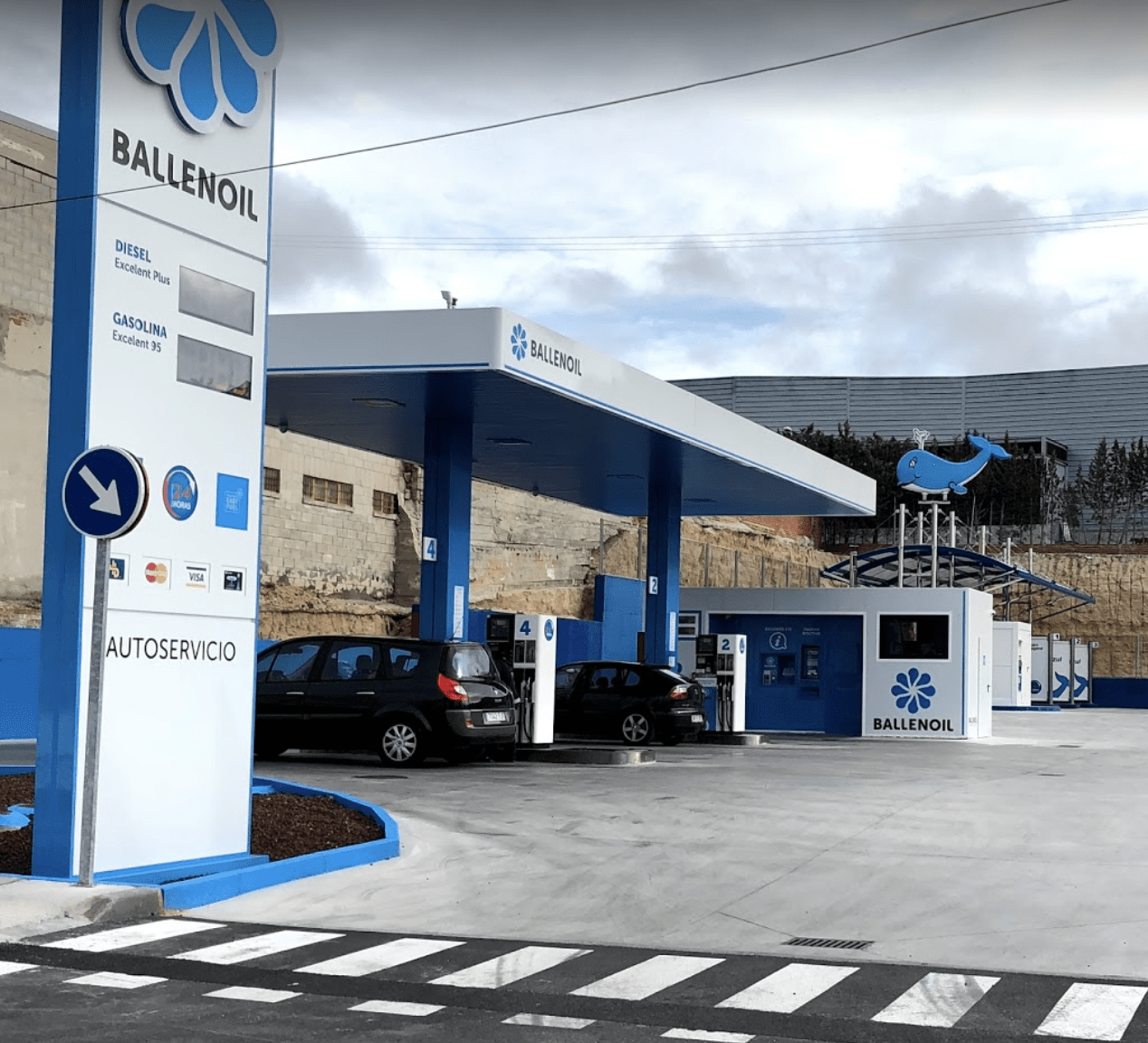 Gasolinera Ballenoil Navalcarnero