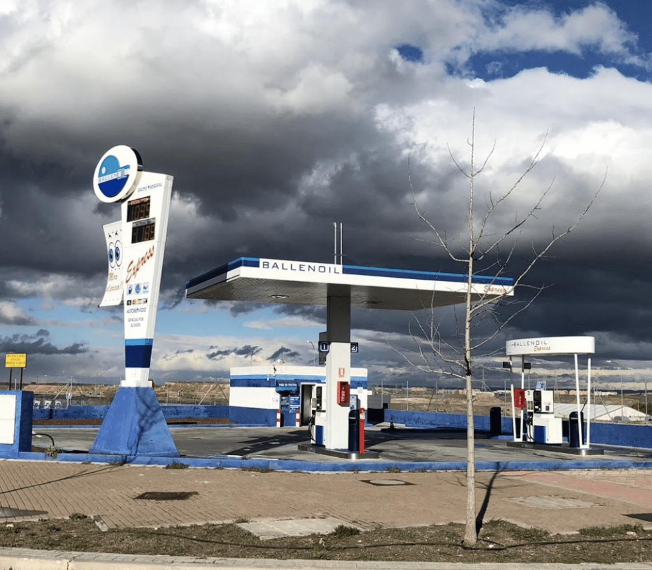 Gasolinera Ballenoil Vallecas