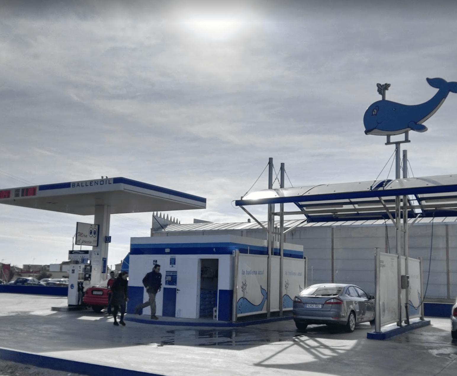 Gasolinera Ballenoil Viso del Alcor