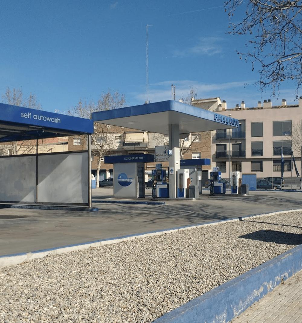 Gasolinera Ballenoil Terrassa
