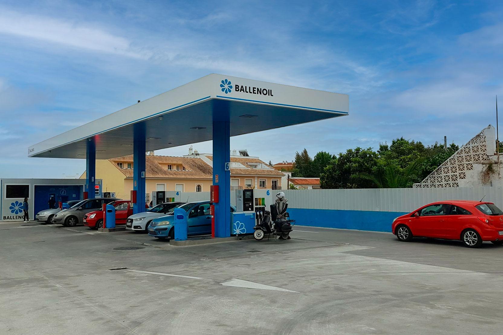 Gasolinera Ballenoil Fuengirola