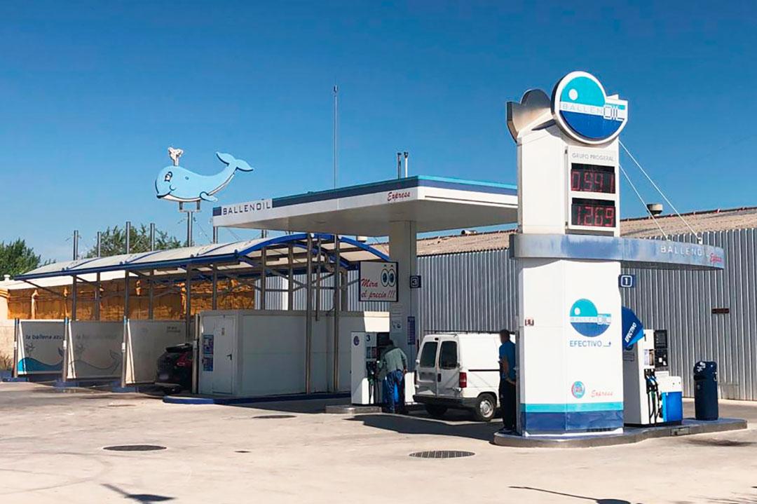 Gasolinera Ballenoil Gandia