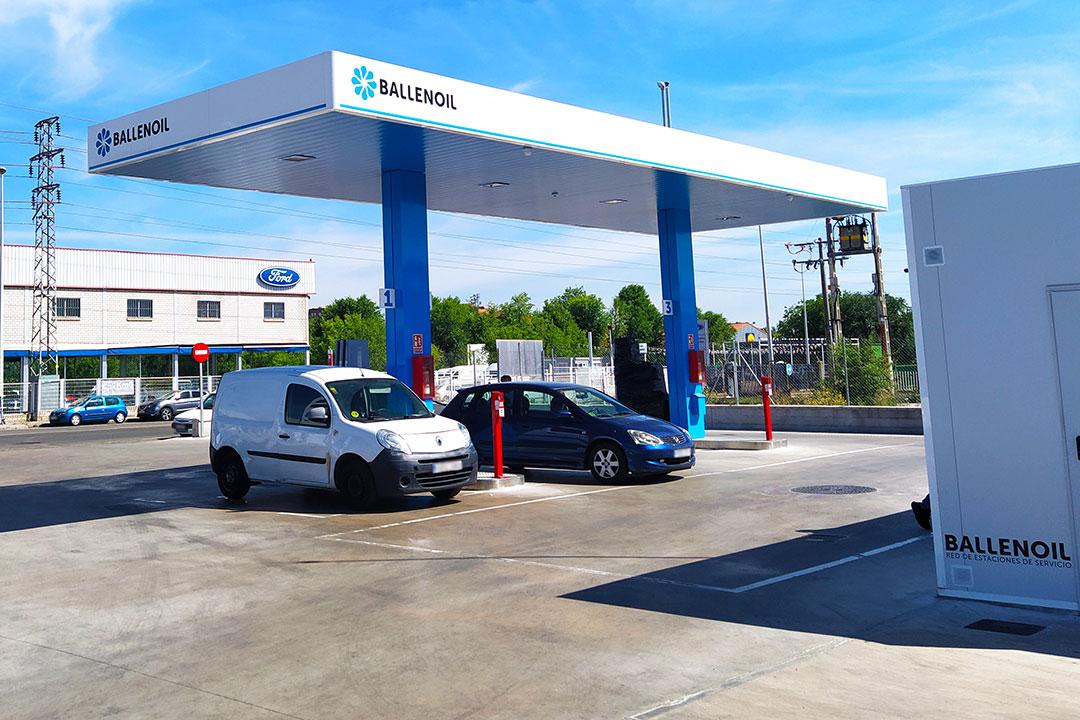 Gasolinera Ballenoil Leganés