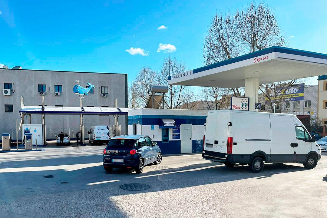 Gasolinera Ballenoil Mostoles