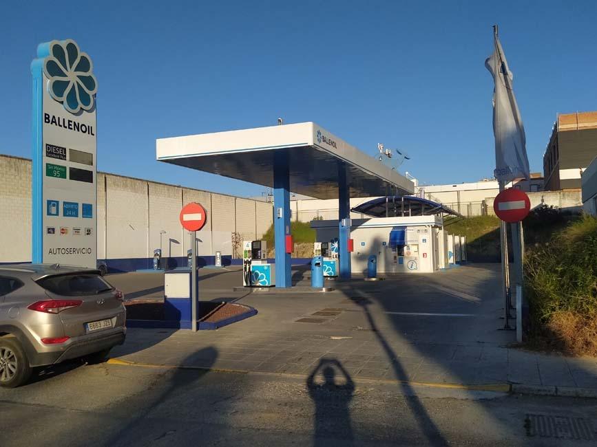 Gasolinera Ballenoil Coria