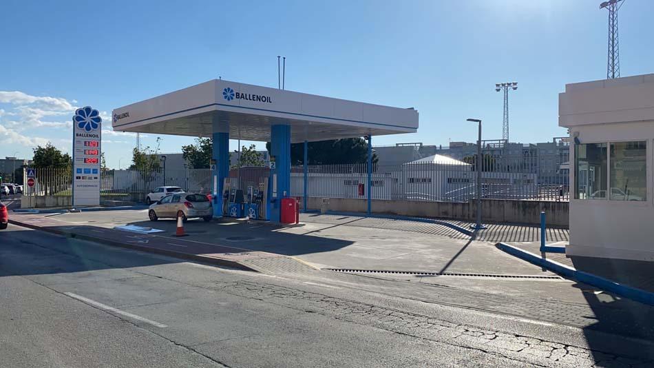 Gasolinera Ballenoil Jerez de la Frontera
