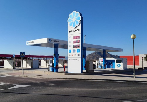 Gasolinera Ballenoil petrer