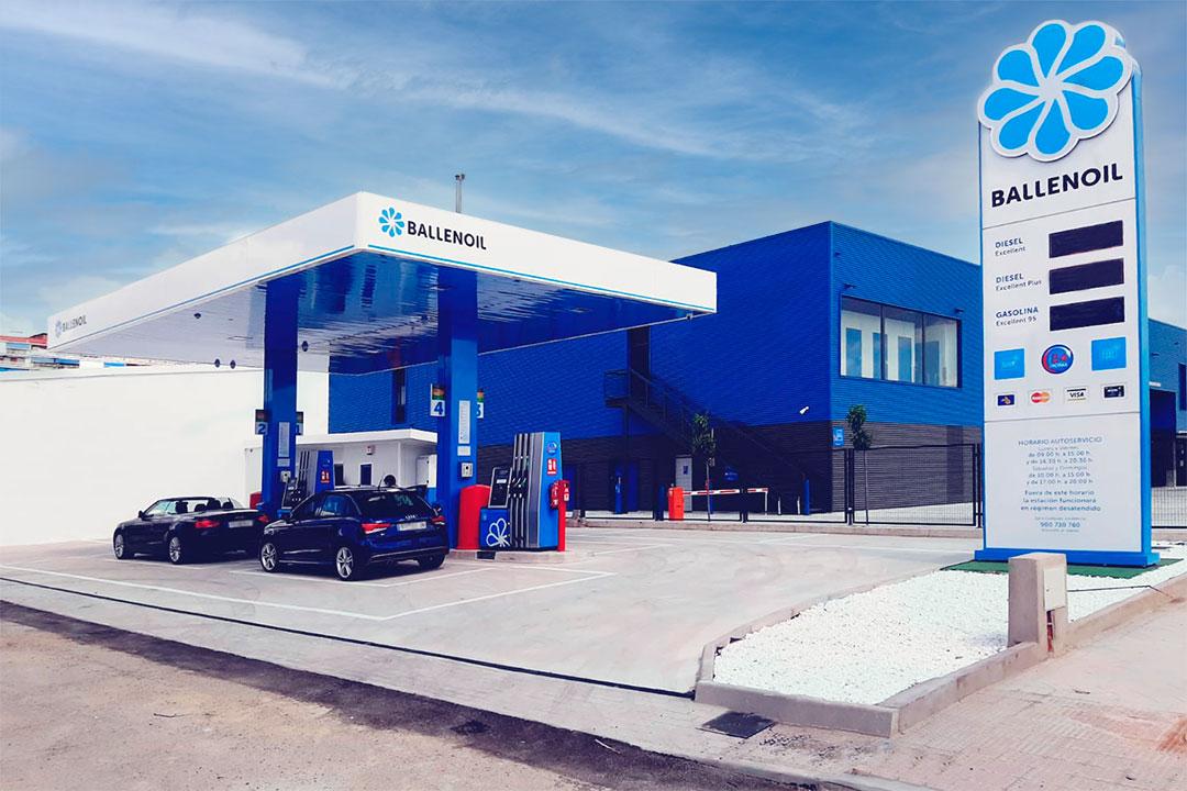 Gasolinera Ballenoil Torrejon