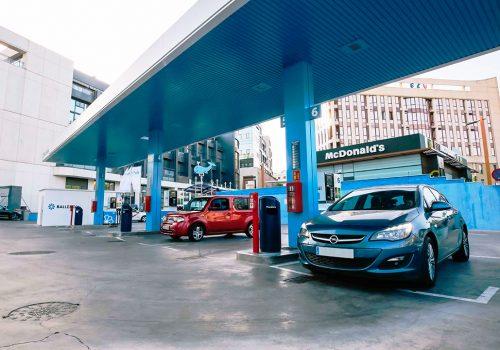 Gasolinera Ballenoil Albasanz