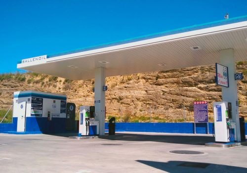 Gasolinera Ballenoil Arcos de la frontera