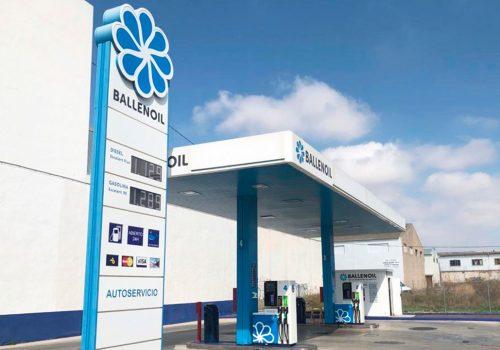 Gasolinera ballenoil Alicante