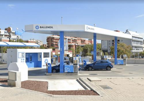 Gasolinera Ballenoil aviacion