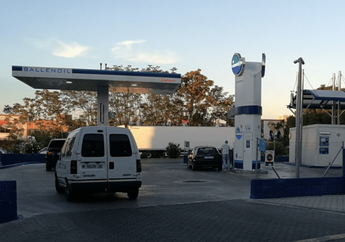 Gasolinera Ballenoil coslada