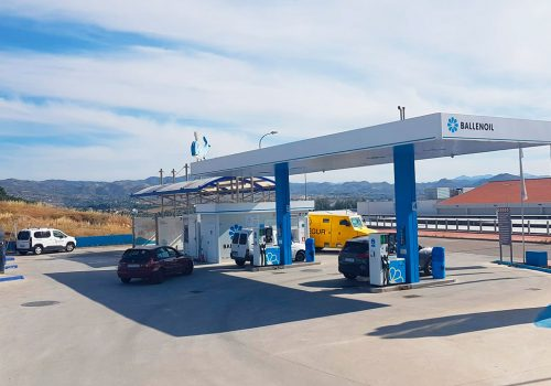 Gasolinera Ballenoil Cartama