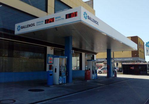 Gasolinera Ballenoil El Prat