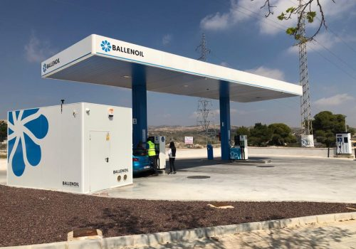 Gasolinera Ballenoil Elche