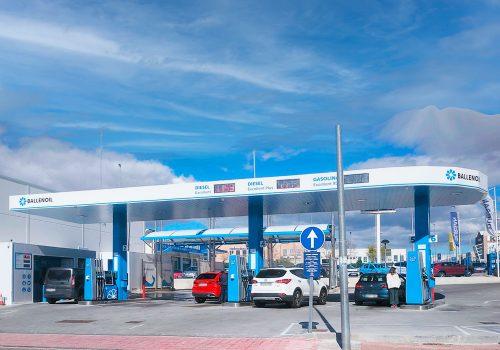 Gasolinera Ballenoil Majadahonda