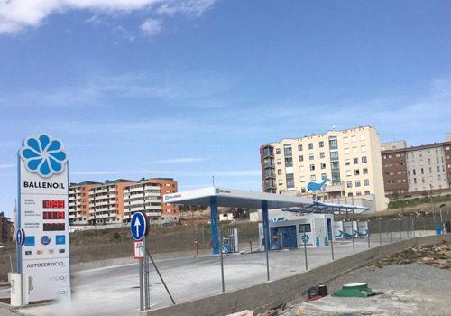 Gasolinera Ballenoil hornos de caleros Avila