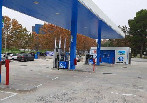 Gasolinera Ballenoil Carabanchel