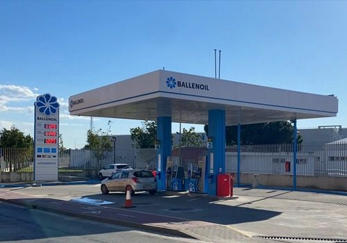 Gasolinera Ballenoil Jerez